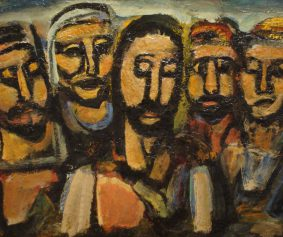 Rouaults-Christ-and-the-apostles_underCC-by_flickr-user_Ben-Sutherland